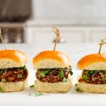 Walnut and Mushroom veggie burger